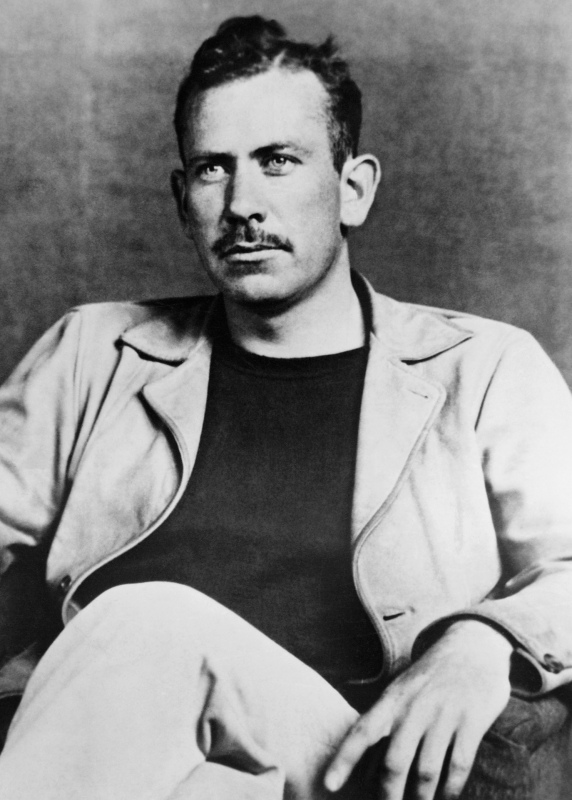 John Steinbeck (1902-1968) the American author as a young man. His novels include The Grapes of Wrath, Of Mice and Men and East of Eden. He won the Nobel prize for literature in 1962. (Photo by © Hulton-Deutsch Collection/CORBIS/Corbis via Getty Images)