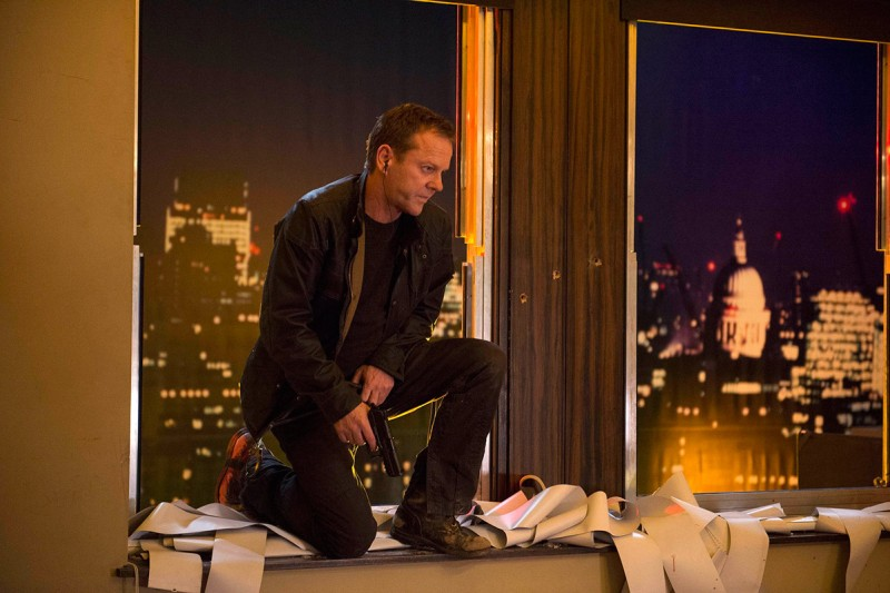 Kiefer Sutherland in 24: LIVE ANOTHER DAY (Daniel Smith/FOX)