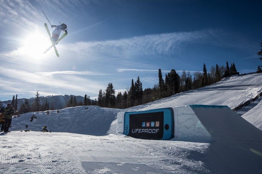 Kelly Sildaru performs during Women's Ski Slopestyle at Winter X 2017 in Aspen, CO on January 29, 2017. (Christian Pondella/Red Bull Content Pool)