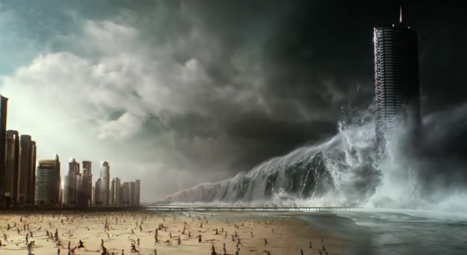 New 'Geostorm' Trailer Sees Earth Hit by Very Literal Man-Made Climate Change