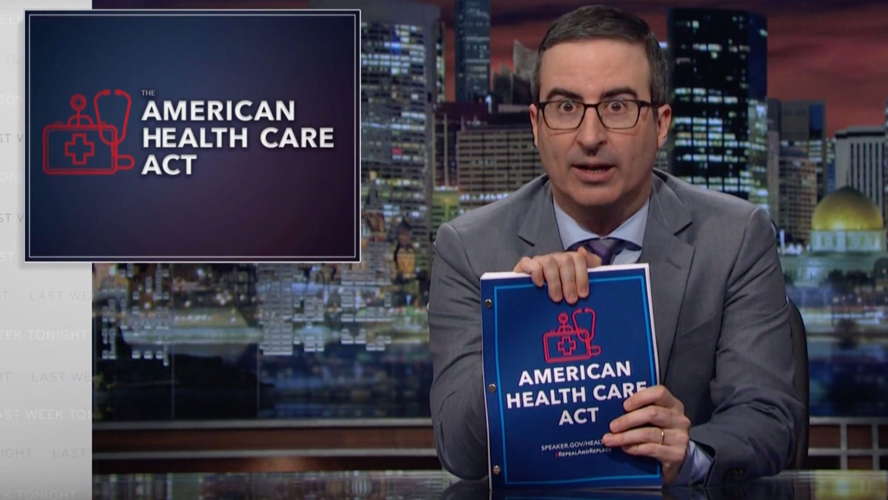 John Oliver Buys 'Fox and Friends' Ads to Reach President Trump on AHCA