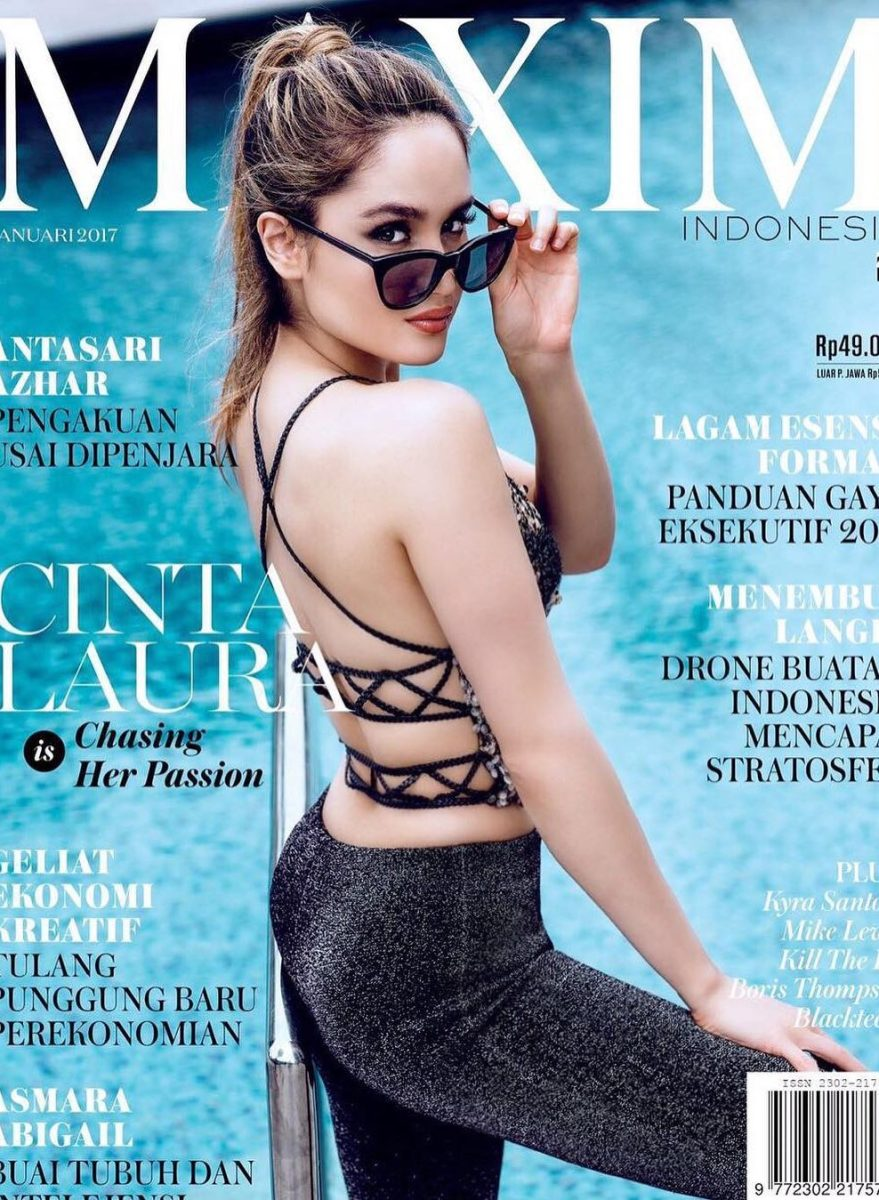 Meet Cinta Laura, Maxim Indonesia's Latest Cover Girl, Who's Out to Conquer Hollywood