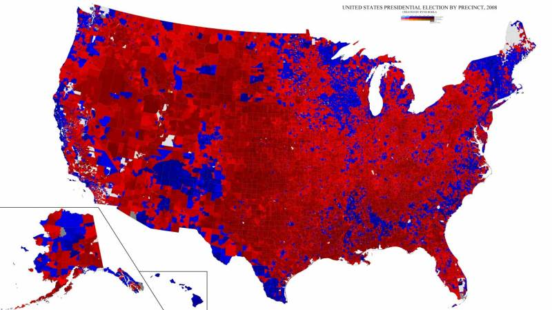 2008 Presidential Election Results (Decision Desk HQ)