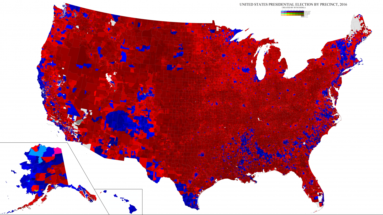 2016 Presidential Election Results (Decision Desk HQ)