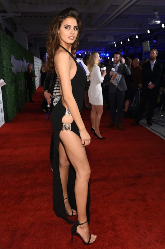 NEW YORK, NY - FEBRUARY 16: Model Bo Krsmanovic attends the Sports Illustrated Swimsuit 2016 - NYC VIP press event on February 16, 2016 in New York City. (Photo by Jamie McCarthy/Getty Images for Sports Illustrated)