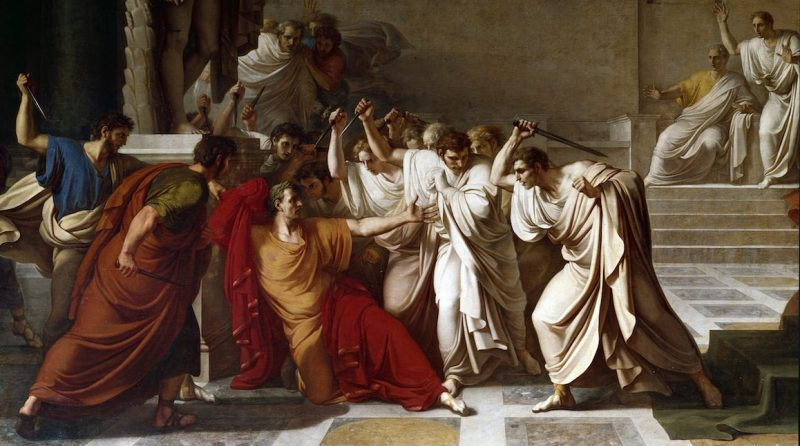 The death of Caesar, detail (Photo by: Leemage/UIG via Getty Images)
