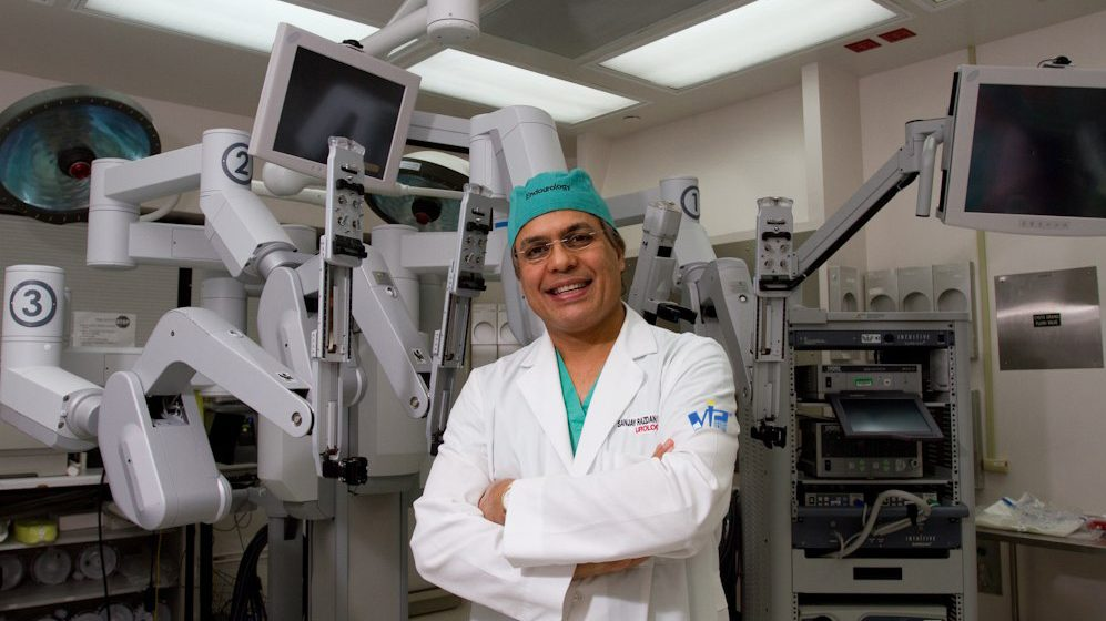Meet Dr. Sanjay Razdan, the Surgeon With 'Robotic Hands'
