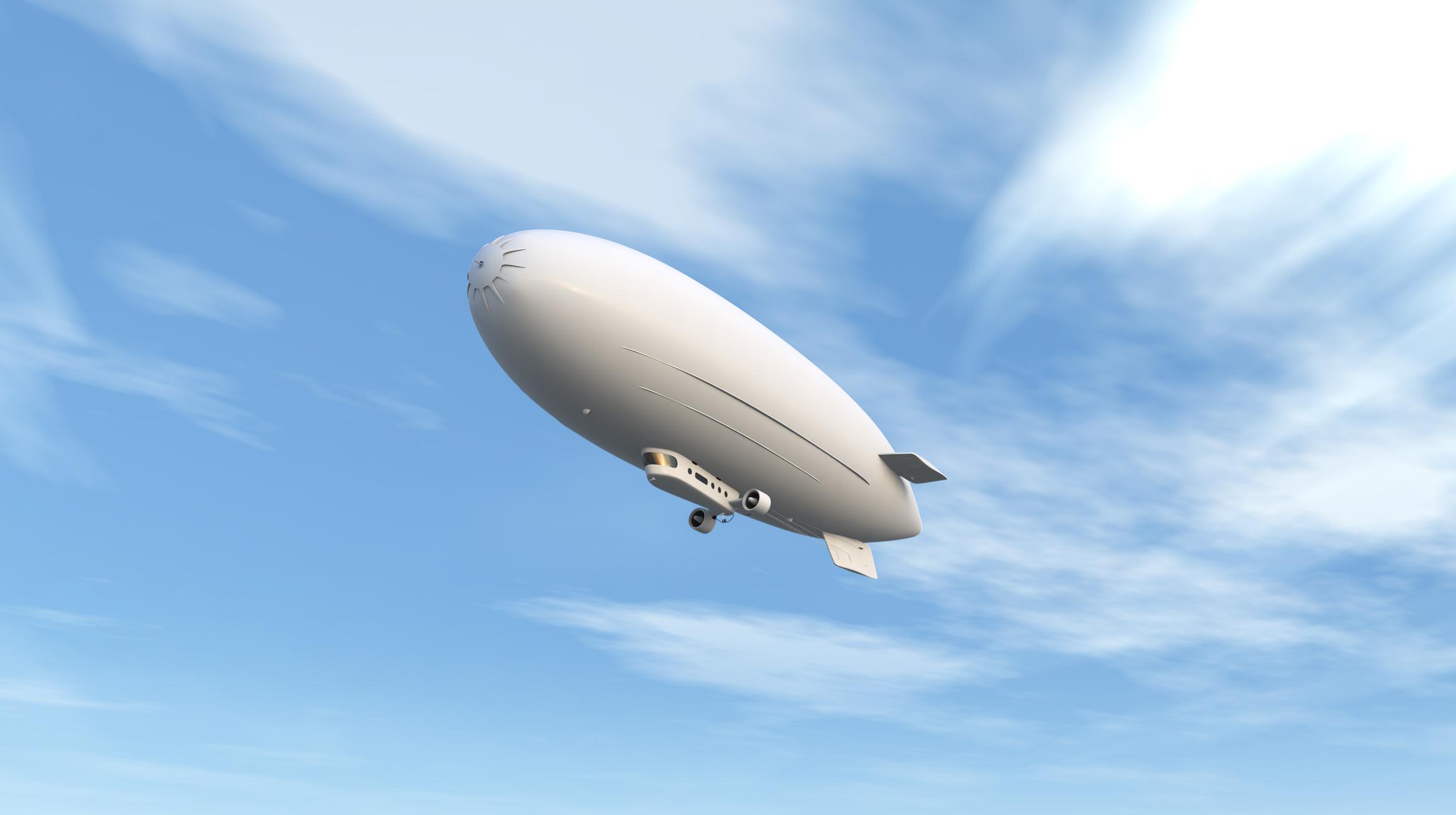 Airship, Blimp, Dirigibles