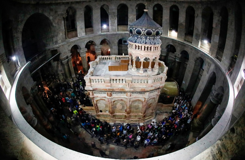 Site of Jesus' Tomb Reopened to the Public