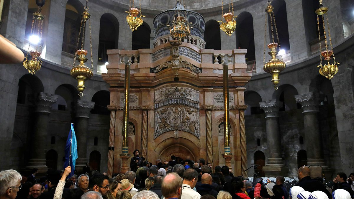 Site of Jesus' Tomb Reopened to Public