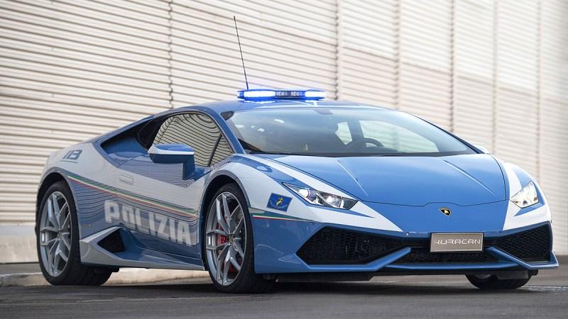 Italian Police Now Drive Lamborghinis