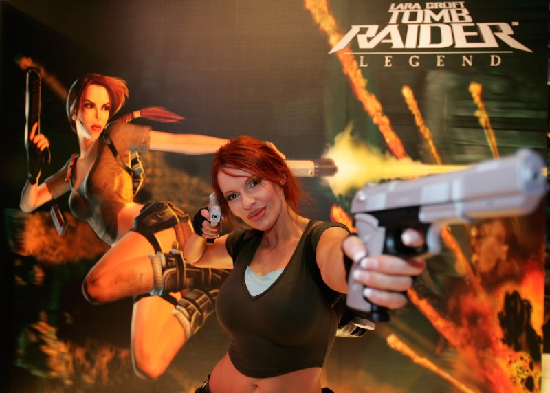 XXX on August 17, 2005 in Leipzig, Germany. The Games Convention is Europe's most important adventure fair for interactive entertainment, hardware and educational software.