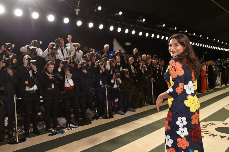 BEVERLY HILLS, CA - FEBRUARY 26: Actress Mindy Kaling attends the 2017 Vanity Fair Oscar Party hosted by Graydon Carter at Wallis Annenberg Center for the Performing Arts on February 26, 2017 in Beverly Hills, California. (Photo by Mike Coppola/VF17/Getty Images for VF)