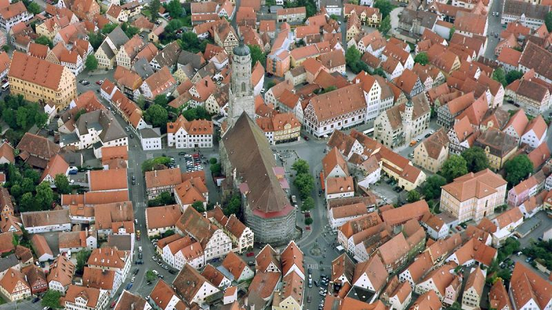 This German Town Is Covered in 72,000 Tons of Diamonds