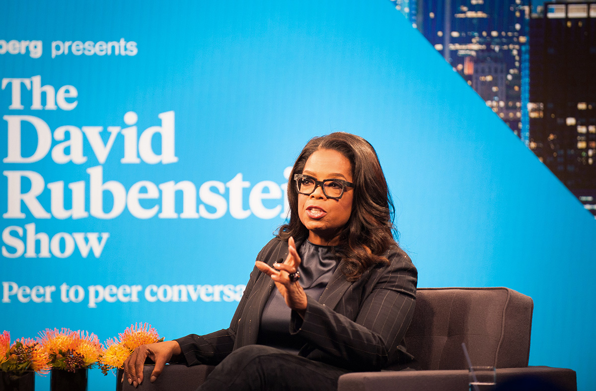 Could Oprah Be Mulling a Presidential Run