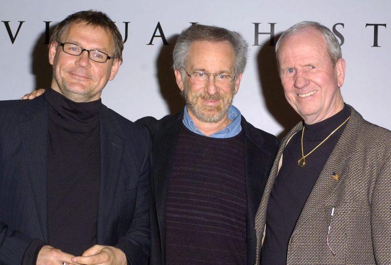 Janusz Kaminski, Steven Spielberg and Gerald Molen