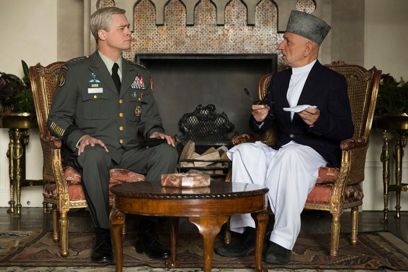 First Look at New Netflix Film 'War Machine'
