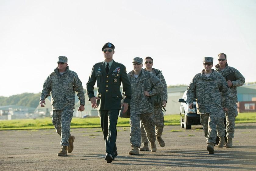 First Look at Netflix's New 'War Machine'