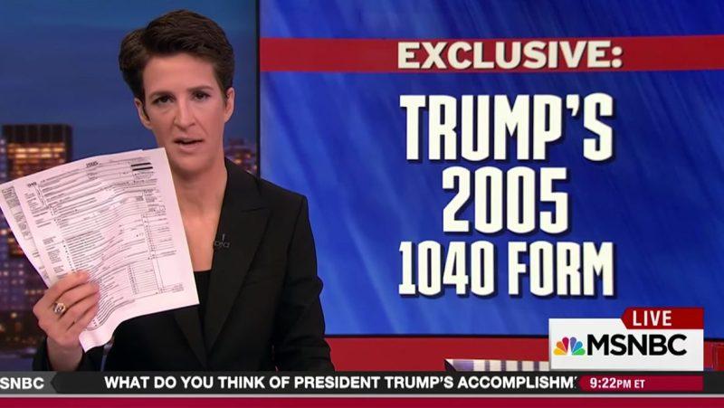 President Trump's 2005 Tax Return