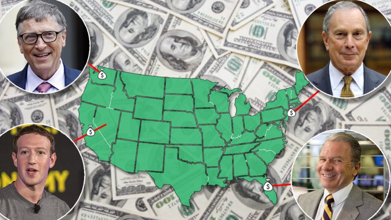 Richest Person Every State