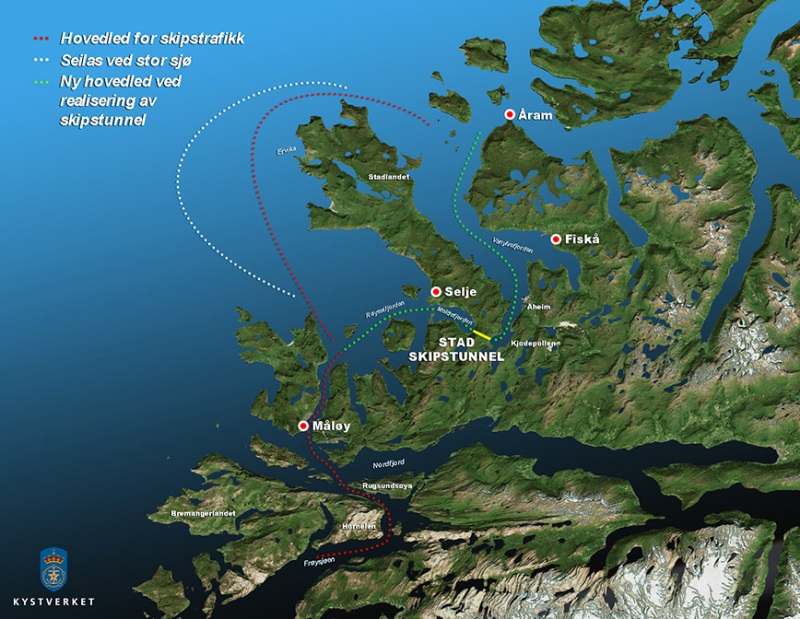 (Kystverket / Norwegian Coastal Administration)