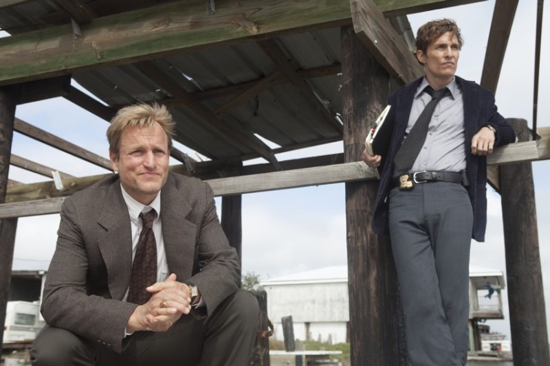 Woody Harrelson and Matthew McConaughey in Season One of 'True Detective' (HBO)