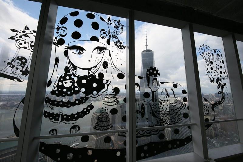 World Trade Center Graffiti Art