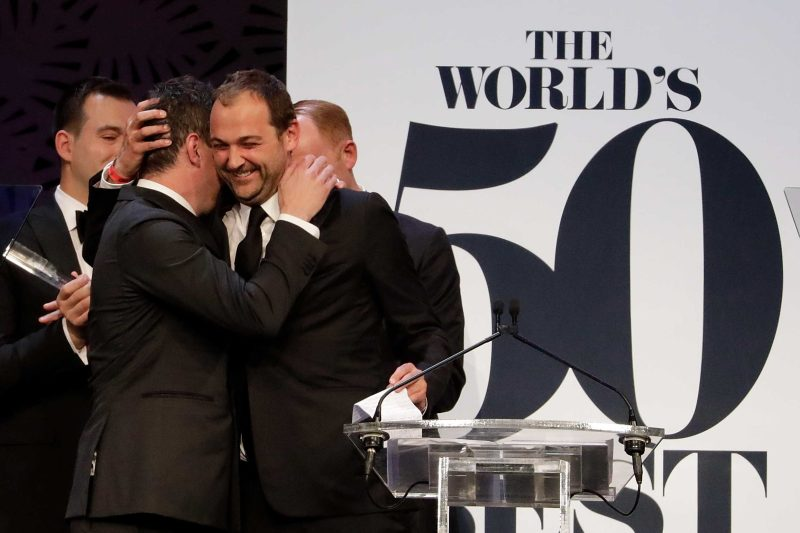 Eleven Madison Park during the World's 50 Best Restaurants Award Ceremony on April 5, 2017 in Melbourne, Australia.(Photo by Sam Tabone/WireImage)