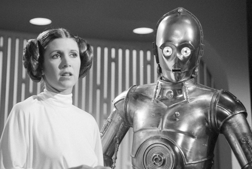 Star Wars Convention's Touching Tribute to Carrie Fisher