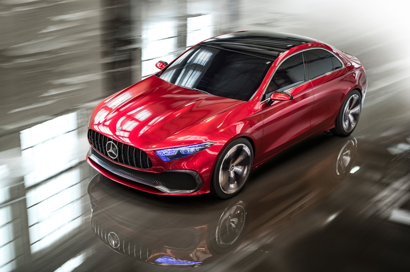 Marvel at Mercedes-Benz's Concept Sedan A