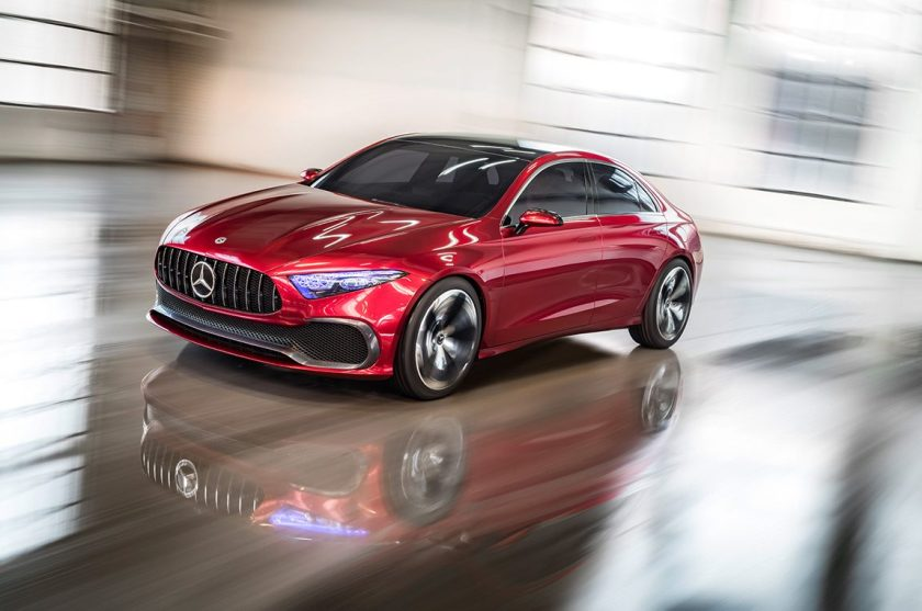Marvel at the Mercedes-Benz Concept Sedan A