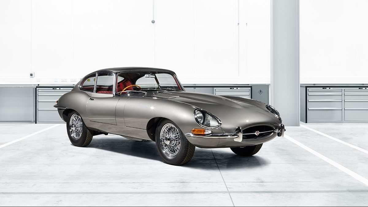 Jaguar Launching 'Reborn' Series of E-Types