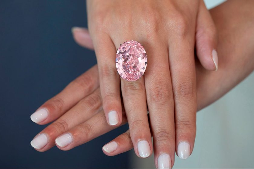 Pink Diamond Sets World Record at $71 Million for Sotheby's