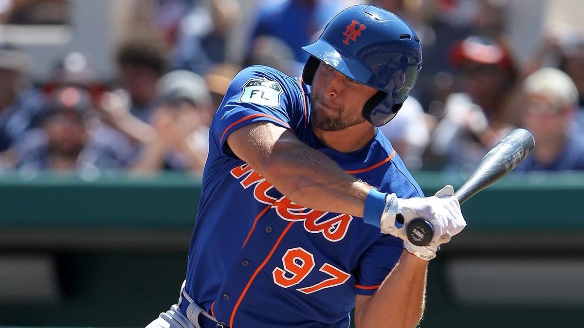 Tim Tebow Hits Homer in First Minor League At-Bat