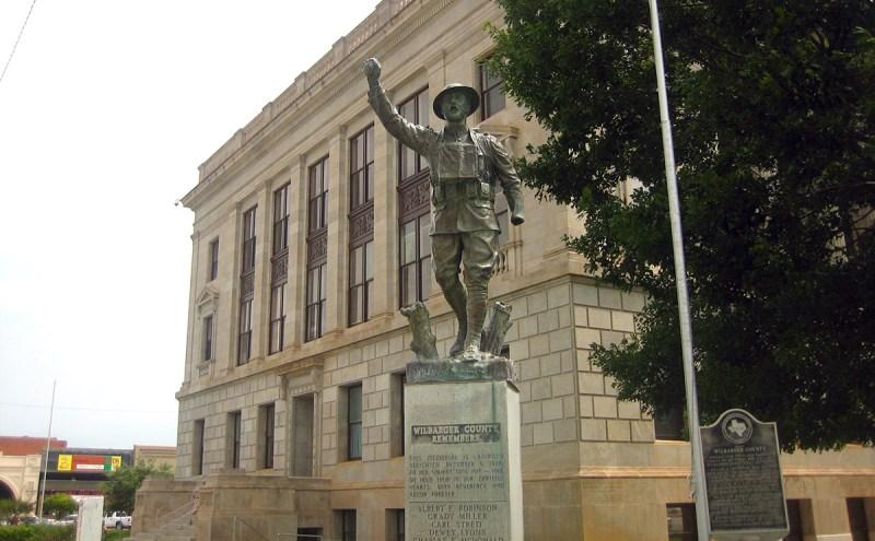 Wilbarger County, TX, Veterans' Memorial