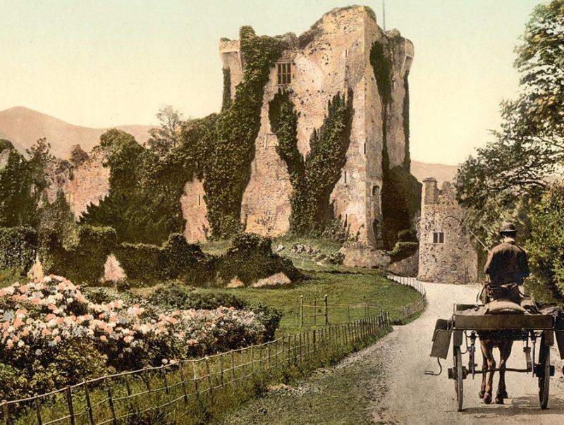Ross Castle, II, Killarney. County Kerry, Ireland (Library of Congress)