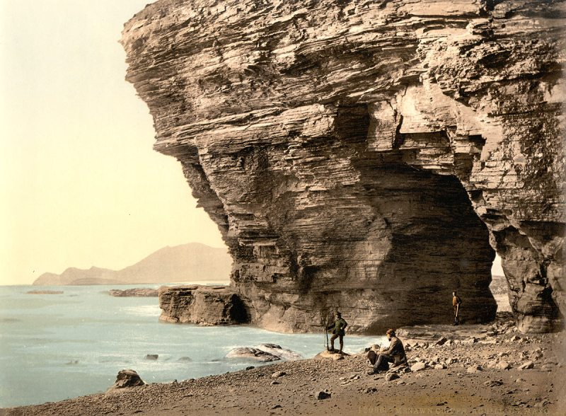 Menawn Cliffs, Achill. County Mayo, Ireland (Library of Congress)