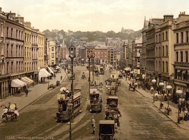 Patrick Street (i.e., St. Patrick Street), Cork. County Cork, Ireland (Library of Congress)