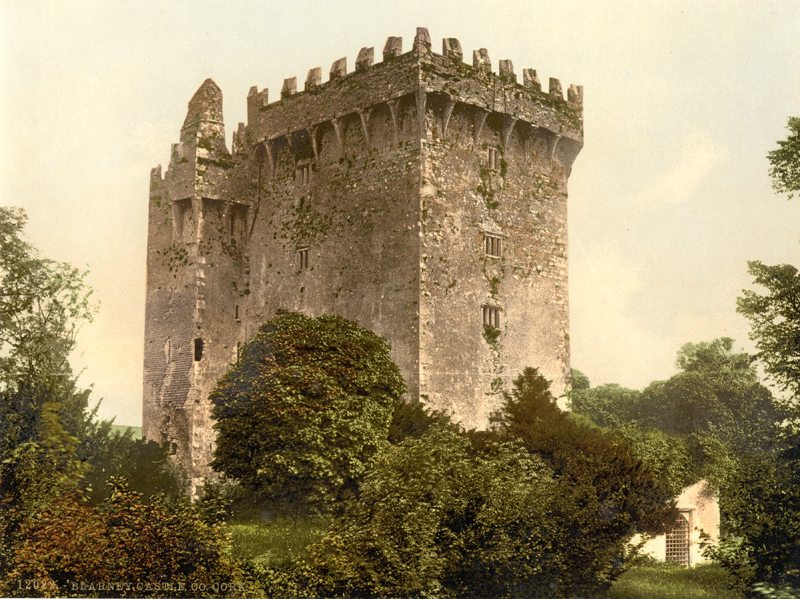 Blarney Castle. County Cork, Ireland (Library of Congress)