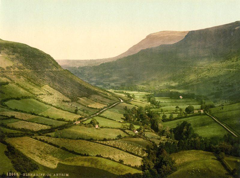Glenariff. County Antrim, Ireland (Library of Congress)