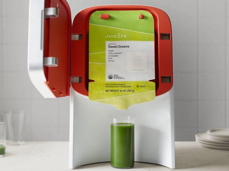 "Juicero, the ""smart"" cold-press juicer (Juicero)"