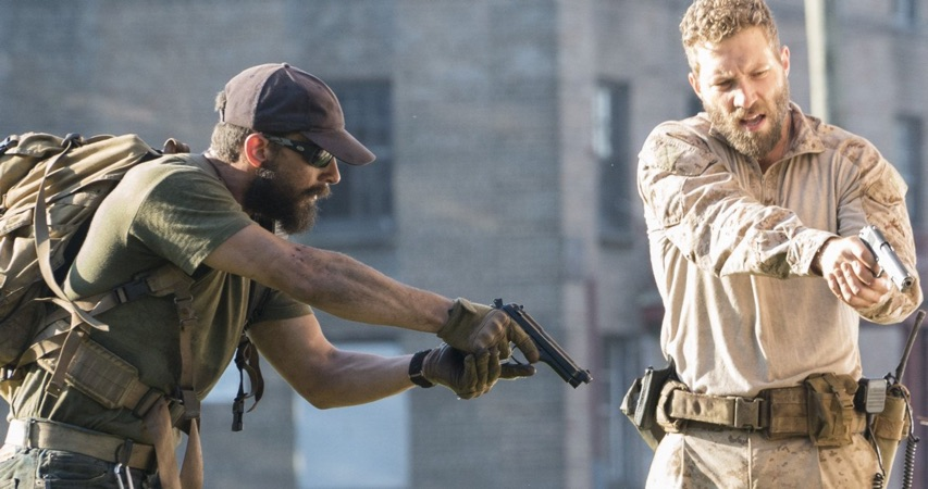 Shia LaBeouf in 'Man Down' (Lionsgate)