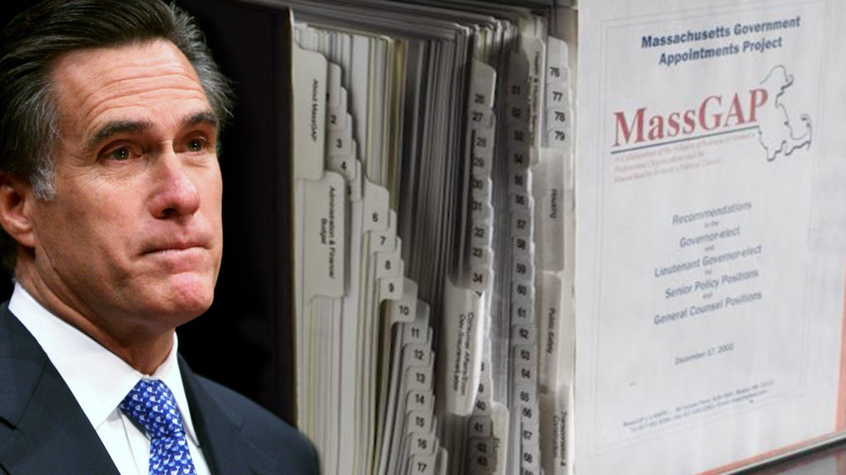 Mitt Romney Binders Full of women