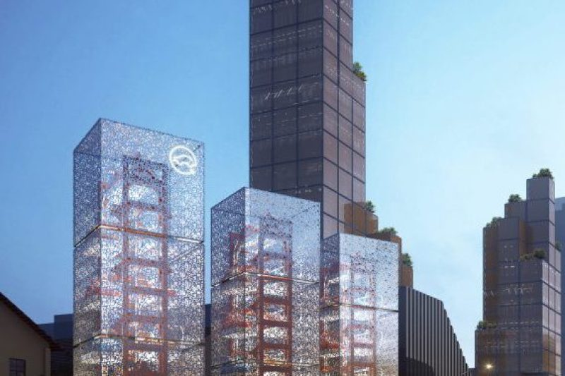 Ennead Architects Charging Tower
