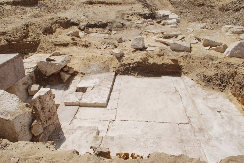 Pyramid discovered south of Cairo