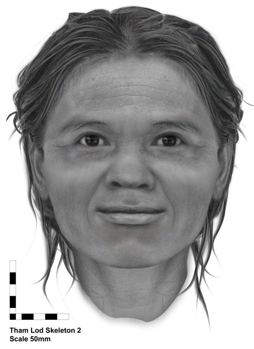 Stone Age Woman From Thailand's Face Reconstructed