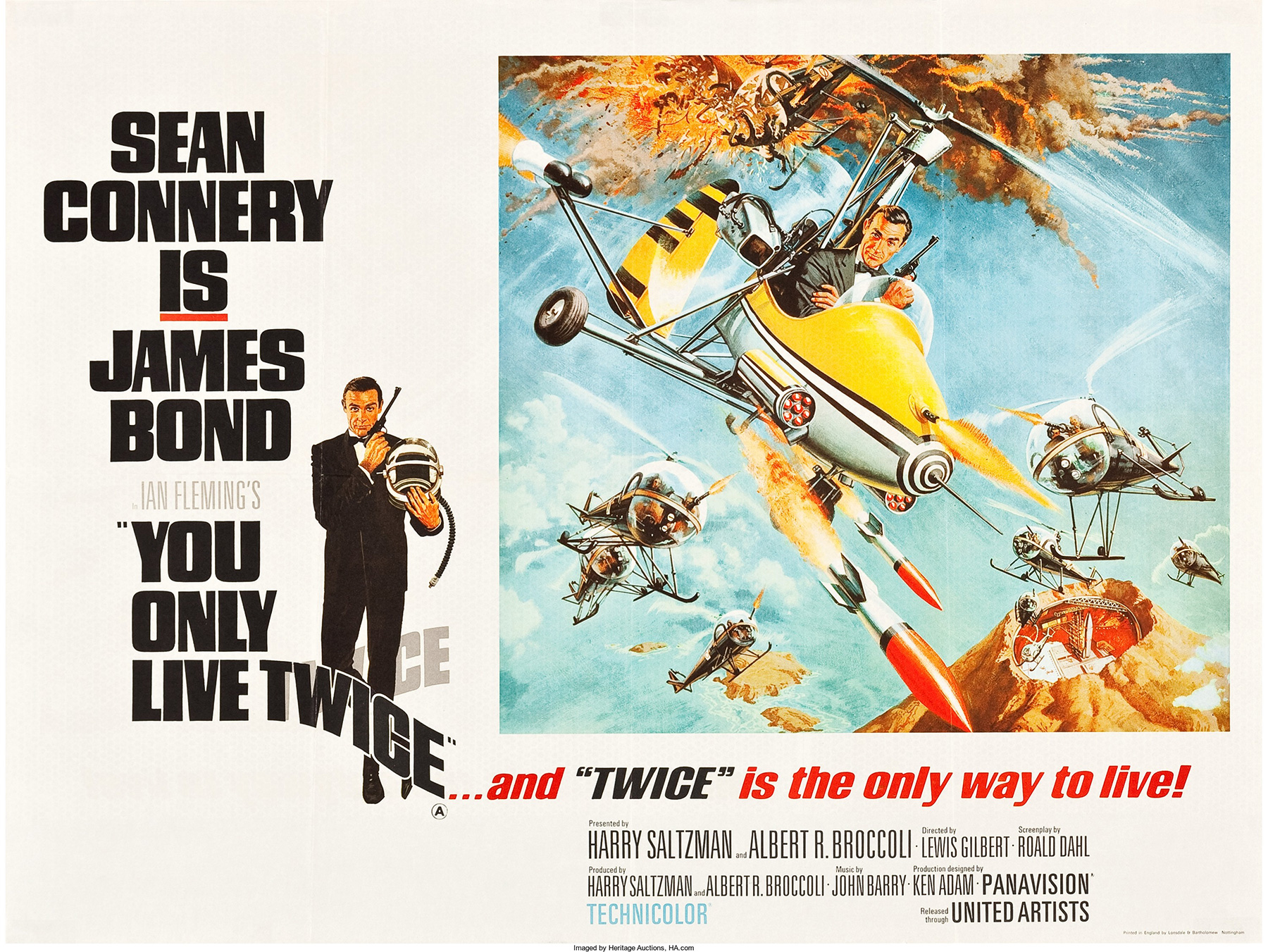 James Bond's 'You Only Live Twice' at 50