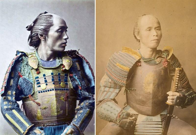 Japanese Samurai Color photos