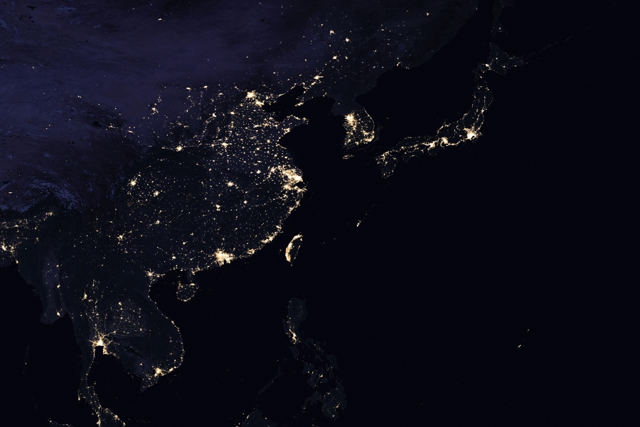 Newest NASA Satellite Photos of the Earth at Night ...