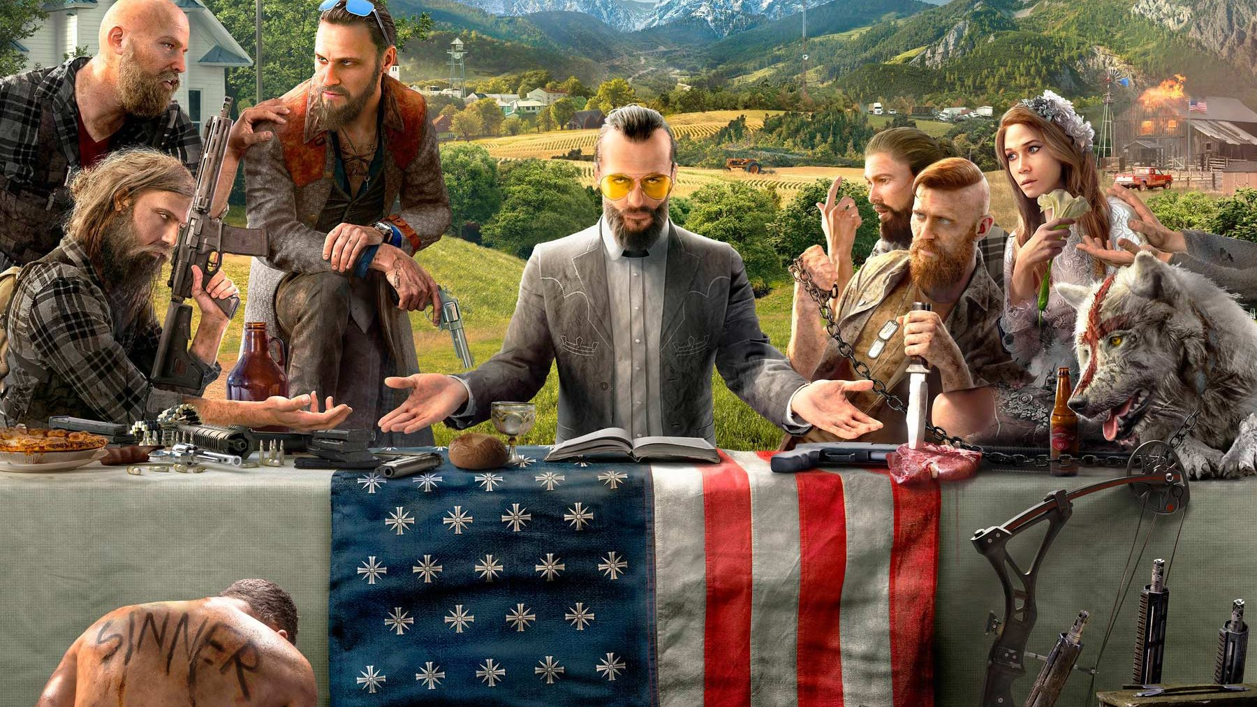The villains in 'Far Cry 5' are Americans. (Ubisoft)